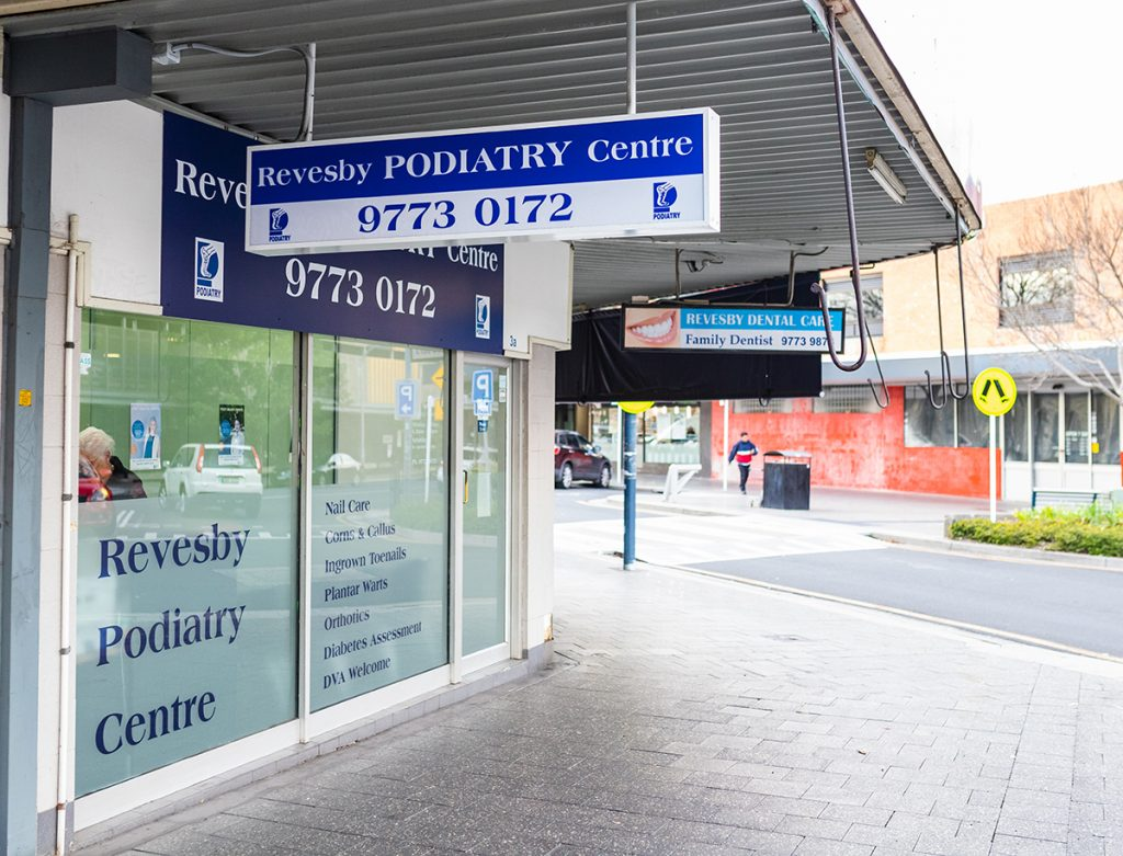 Revesby Podiatry Centre Selems Parade Revesby 2212
